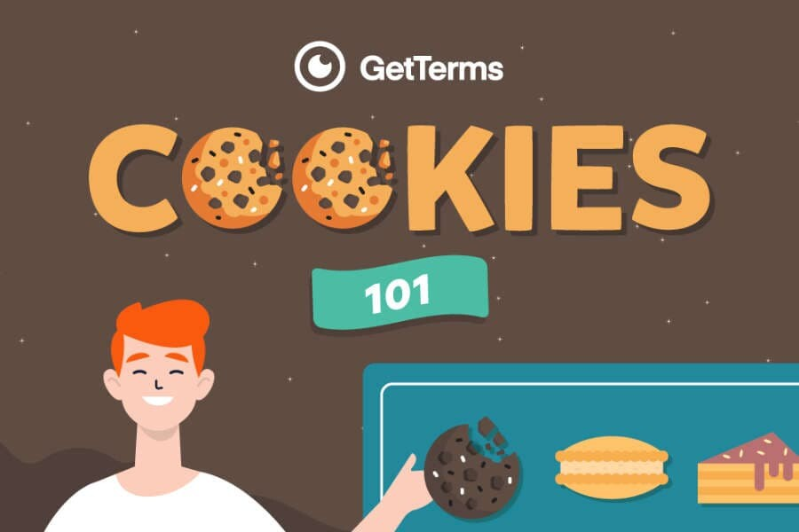 Preview of cookie infographic illustration